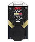 Капа OPRO Gold UFC Hologram Black Metal/Gold (art.002260001), фото 7