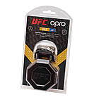 Капа OPRO Junior Gold UFC Hologram Black Metal/Gold (art.002260001), фото 5