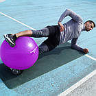 Мяч для фитнеса и гимнастики POWER SYSTEM PS-4012 65 cm Purple, фото 6