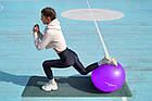Мяч для фитнеса и гимнастики POWER SYSTEM PS-4012 65 cm Purple, фото 7