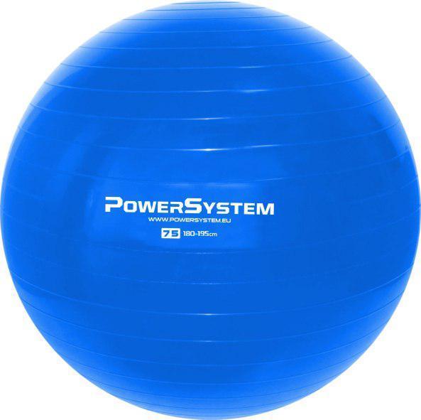 Мяч для фитнеса и гимнастики POWER SYSTEM PS-4013 75 cm Blue