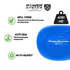Мяч для фитнеса и гимнастики POWER SYSTEM PS-4013 75 cm Blue, фото 6
