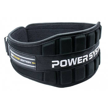 Пояс неопреновый для тяжелой атлетики Power System Neo Power PS-3230 Black/Yellow M