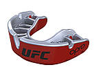 Капа OPRO Gold UFC Hologram Red Metal/Silver (art.002260002), фото 3