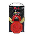 Капа OPRO Gold UFC Hologram Red Metal/Silver (art.002260002), фото 6