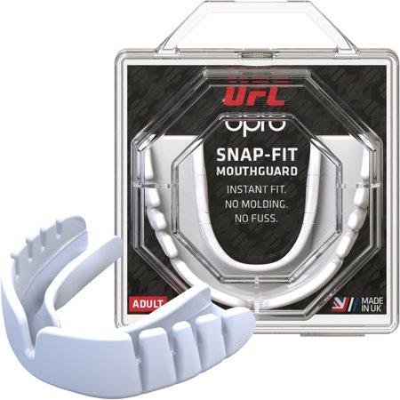 Капа OPRO Junior Snap-Fit UFC Hologram White (art.002263002)