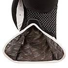 Боксерські рукавиці PowerPlay 3011 Чорно-Білі карбон 12 унцій, фото 4