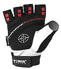 Перчатки для фитнеса и тяжелой атлетики Power System Flex Pro PS-2650 XXL White, фото 2
