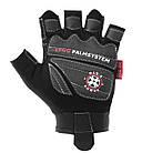 Перчатки для фитнеса и тяжелой атлетики Power System Man's Power PS-2580 XS Black/Grey, фото 2