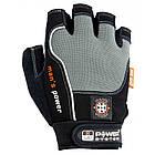 Перчатки для фитнеса и тяжелой атлетики Power System Man's Power PS-2580 XS Black/Grey, фото 3