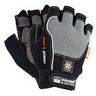 Перчатки для фитнеса и тяжелой атлетики Power System Man's Power PS-2580 XS Black/Grey, фото 6