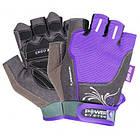 Перчатки для фитнеса и тяжелой атлетики Power System Woman's Power PS-2570 M Purple, фото 3