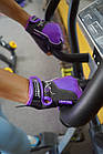 Перчатки для фитнеса и тяжелой атлетики Power System Woman's Power PS-2570 M Purple, фото 6
