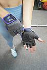 Перчатки для фитнеса и тяжелой атлетики Power System Cute Power PS-2560 женские S Purple, фото 10