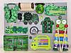 Розвиваюча дошка розмір 30*40 див. Бизиборд для дітей 16 елементів!, фото 3