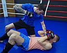 Рукавички для MMA PowerPlay 3056 А Чорно-Білі XL, фото 7