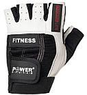 Перчатки для фитнеса и тяжелой атлетики Power System Fitness PS-2300 XL Black/White, фото 4