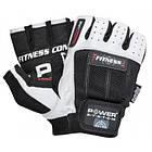 Перчатки для фитнеса и тяжелой атлетики Power System Fitness PS-2300 XL Black/White, фото 6