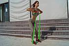 Еспандер лента PowerPlay 4112 Medium Зелена (200*15*0.5мм, 9кг), фото 3