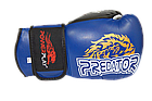 Боксерські рукавиці PowerPlay 3006 Сині 14 унцій, фото 3