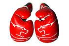 Боксерські рукавиці PowerPlay 3018 Червоні 14 унцій, фото 2