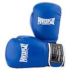 Боксерські рукавиці PowerPlay 3019 Сині 14 унцій, фото 7