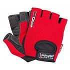 Перчатки для фитнеса и тяжелой атлетики Power System Pro Grip PS-2250 M Red, фото 4