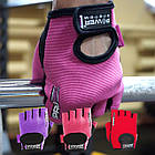 Перчатки для фитнеса и тяжелой атлетики Power System Pro Grip PS-2250 M Red, фото 7