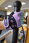 Рукавички для фітнесу PowerPlay 3492 жіночі Чорно-Фіолетові S, фото 10