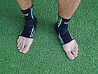 Эластический Голеностоп Power System Ankle Support Evo PS-6022 L Black/Blue, фото 7