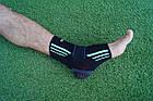 Эластический Голеностоп Power System Ankle Support Evo PS-6022 L Black/Blue, фото 9