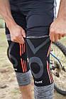 Эластический наколенник Power System Knee Support Evo PS-6021 L Black/Orange, фото 10