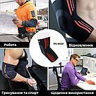 Эластический налокотник Power System Elbow Support Evo PS-6020 XL Black/Orange, фото 5