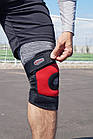 Наколенник Power System Neo Knee Support PS-6012 M Black/Red, фото 8