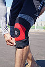 Наколенник Power System Neo Knee Support PS-6012 M Black/Red, фото 9