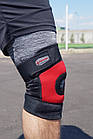 Наколенник Power System Neo Knee Support PS-6012 M Black/Red, фото 10