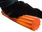 Ролик для йоги і пілатес PowerPlay 4020 (60*15 см) Оранжевий, фото 3