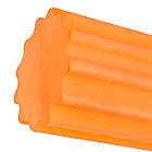 Ролик для йоги і пілатес PowerPlay 4020 (60*15 см) Оранжевий, фото 4