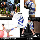 Наколенник Power System Knee Support Pro PS-6008 L/XL Blue/White, фото 2