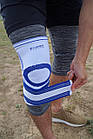 Наколенник Power System Knee Support Pro PS-6008 L/XL Blue/White, фото 3