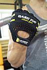 Перчатки для фитнеса и тяжелой атлетики Power System Basic EVO PS-2100 S Black/Yellow Line, фото 8