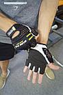 Перчатки для фитнеса и тяжелой атлетики Power System Basic EVO PS-2100 S Black/Yellow Line, фото 9