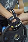 Перчатки для фитнеса и тяжелой атлетики Power System Basic EVO PS-2100 S Black/Yellow Line, фото 10