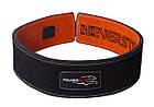 Пояс для важкої атлетики PowerPlay 5175 Чорно-Помаранчевий XS, фото 2