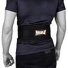 Пояс для важкої атлетики PowerPlay 5535 Чорний (Неопрен) XL, фото 5