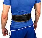 Пояс для важкої атлетики PowerPlay 5084 Чорно-Жовтий M, фото 2