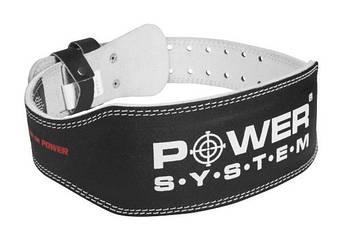 Пояс для тяжелой атлетики Power System Basic PS-3250 XL Black