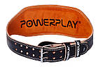 Пояс для важкої атлетики PowerPlay 5086 Чорно-Коричневий L, фото 5