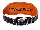 Пояс для важкої атлетики PowerPlay 5086 Чорно-Коричневий XL, фото 5