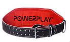 Пояс для важкої атлетики PowerPlay 5053 Чорно-Червоний XL, фото 2